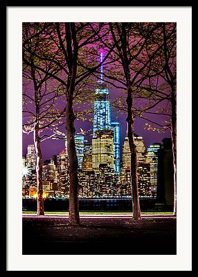 New Jersey Photographs Framed Prints