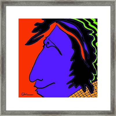 Bright Guy Framed Print