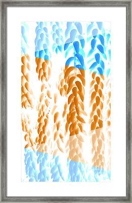 Bright Hanging Plants Framed Print