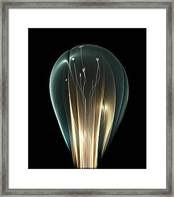 Bright Idea Framed Print by Anastasiya Malakhova