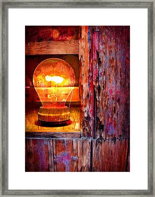 Bright Idea Framed Print by Skip Hunt