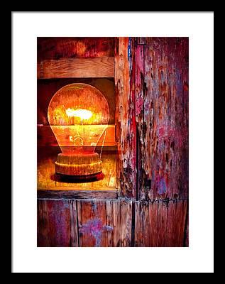 Bulb Framed Prints