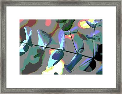 Bright Leaf Framed Print