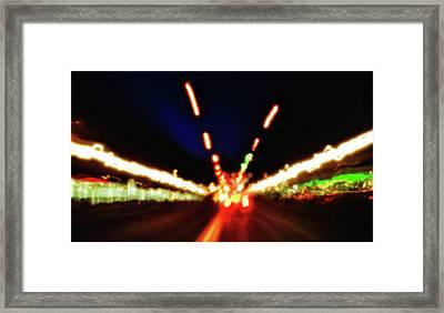 Bright Lights Framed Print