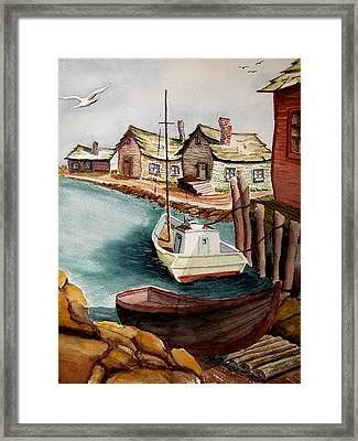 Bright Morning Framed Print by Robert Thomaston