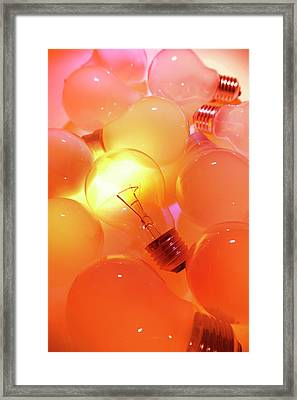 Bright One Framed Print by Les Cunliffe