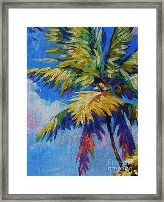 Bright Palm Framed Print by John Clark
