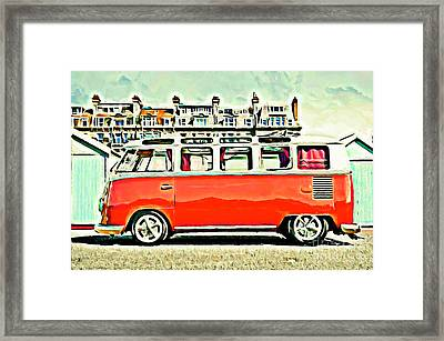 Bright Framed Print by S Poulton