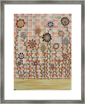 Bright Spring Framed Print by Rain Ririn