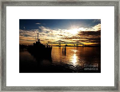 Bright Time On The River Framed Print by Scott Pellegrin