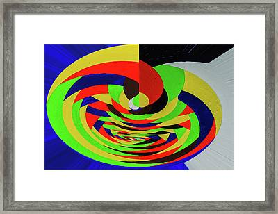 Bright  Twisting Framed Print