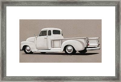 Bright White 3100 Degrees Framed Print by Paul Kim