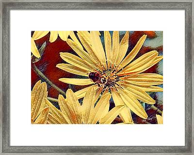 Bright Framed Print by Wild Thing