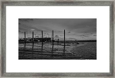 Brightlingsea Framed Print by Martin Newman
