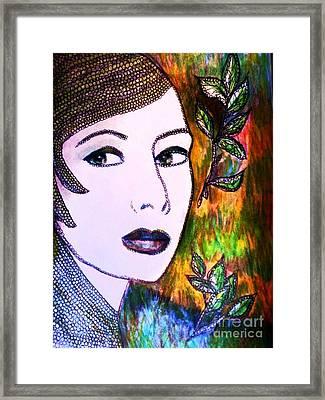 Brightness Framed Print by Veronica Gabriel