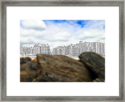 Brighton Beach Framed Print by Svetlana Sewell