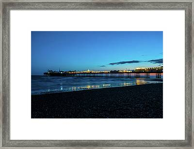 Brighton Pier At Sunset Ix Framed Print