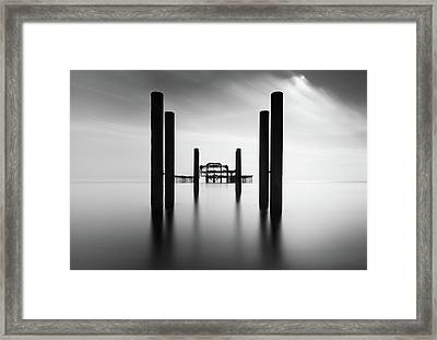 Brighton Pier, The Framed Print by Ivo Kerssemakers