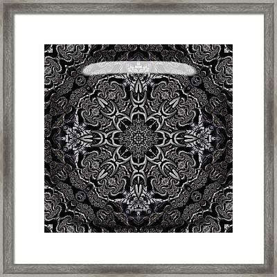 Framed Print featuring the digital art Brighton by Robert Orinski