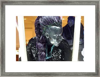 Brigitte 2 Framed Print by Jez C Self
