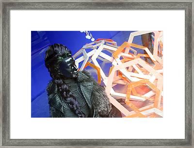 Brigitte Framed Print by Jez C Self
