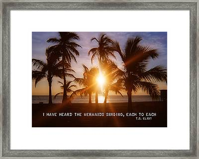 Brilliance Quote Framed Print by JAMART Photography