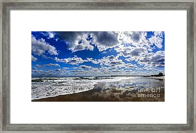 Brilliant Clouds Framed Print