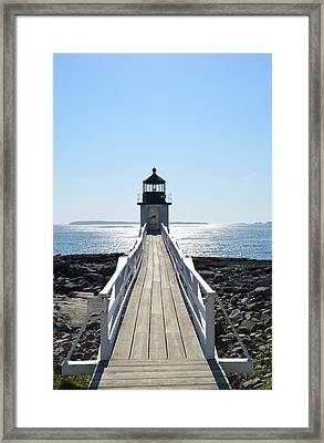 Brilliant Light Framed Print