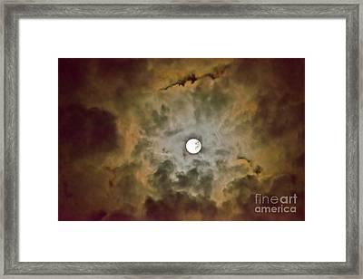 Brilliant Night Sky Framed Print