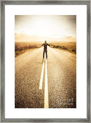Bring It On Framed Print by Jorgo Photography - Wall Art Gallery
