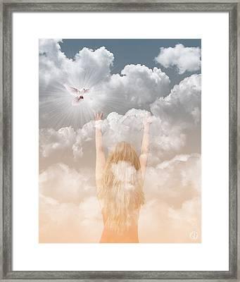 Bring Me Peace Framed Print