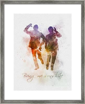 Bring Me Sunshine Framed Print by Rebecca Jenkins
