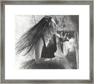 Bring Me To Life Framed Print