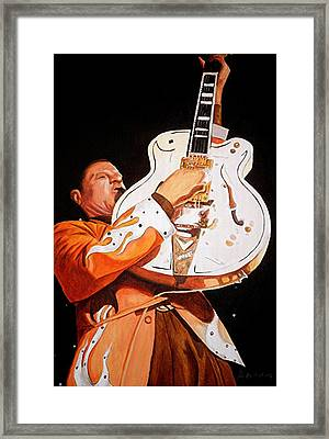 Bring On The Heat Reverend Horton Framed Print by Al  Molina