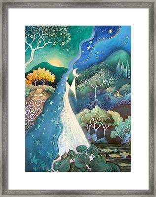 Bringer Of Night Framed Print by Amanda Clark