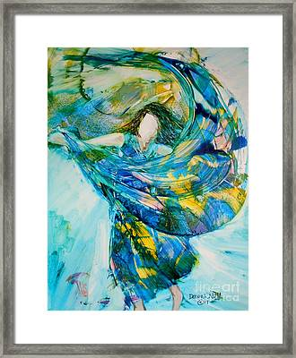 Bringing Heaven To Earth Framed Print