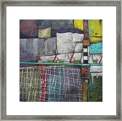 Bringing It All To The Surface  Framed Print