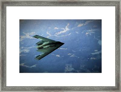 Bringing The Battle To The Enemy Framed Print by JC Findley