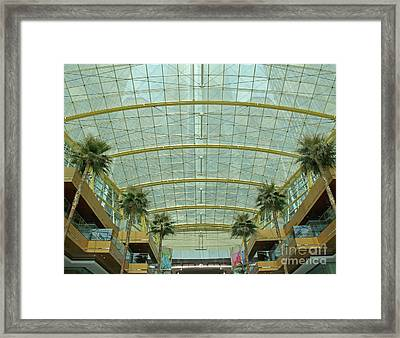Bringing The Outside In Framed Print by Ann Horn