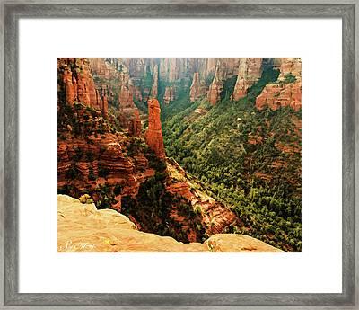 Brins Mesa 07-143 Framed Print
