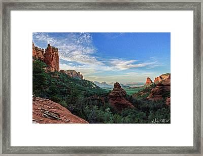 Brins Mesa 07-216 Framed Print by Scott McAllister