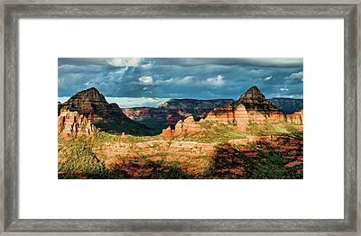 Brins Ridge 04-044pan N Framed Print