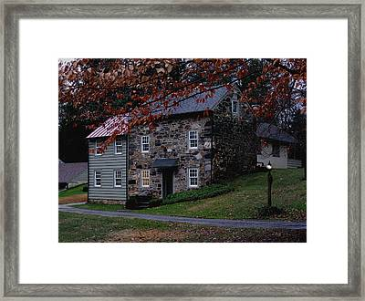 Brintons Bridge Road Home Framed Print by Gordon Beck