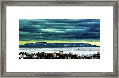 Brisk Giant Framed Print
