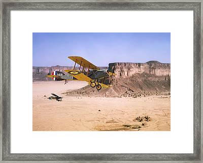 Bristol Fighter - Aden Protectorate  Framed Print by Pat Speirs