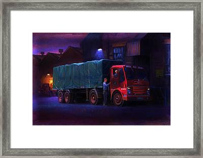 Bristol Ha Artic Framed Print by Mike  Jeffries
