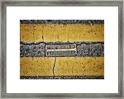Bristol Line Framed Print