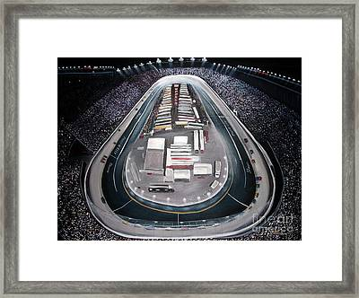 Bristol Motor Speedway Racing The Way It Ought To Be Framed Print