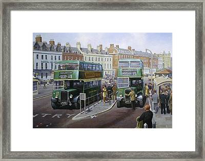 Bristols At Weymouth Framed Print by Mike  Jeffries