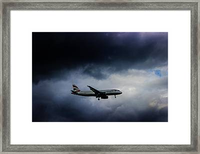 British Airways Jet Framed Print by Martin Newman